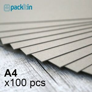 A4-Backing-Boards-100-sheets-700gsm-chipboard-boxboard-cardboard-recycled