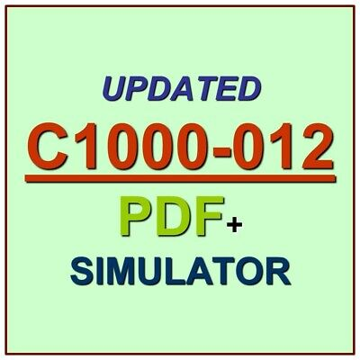 Latest IBM C1000-019 Verified Practice Test Exam QA SIM PDF+Simulator