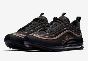 8755a09870 Nike Air Max 97 AOP AQ4132-001 'Camo' Khaki Black Size UK 10 EU ...