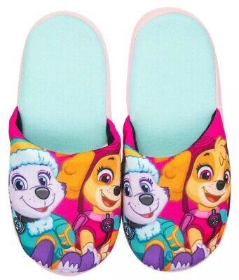 Paw Patrol Slippers Skye /& Everest Pink Slide On Blue Girls Boys Kids Toddlers