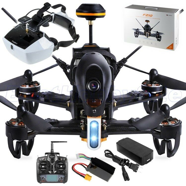 WALKERA F210 vista en primera persona Gafas 4 Racing Drone Quad HD 5.8G anti-colisión DEVO 7 Listo Para Volar