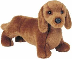 Douglas-Gretel-DACHSHUND-Dog-Plush-Toy-Stuffed-Animal-NEW