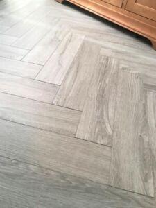 Vinyl Spc Flooring Herringbone