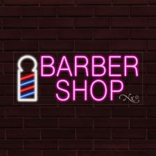 Brand New Barber Shop 32x13x1 Inch Led Flex Indoor Sign 30018