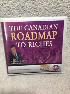 The-Canadian-ROADMAP-to-Riches-Darren-Weeks-FAST-TRACK-DVD-amp-CDs
