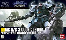 HGUC 1/144 MS-07B-3 Gouf Custom from Gundam MS 08th Plastic Model Kit Bandai JPN