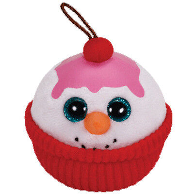 FLAKES the Snowman Sundae - MWMT/'s 2014 2.5 inch TY Holiday Baby