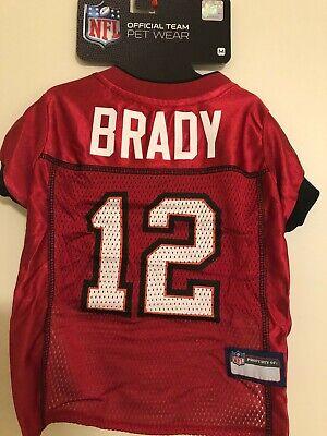 Tom Brady #12 Tampa Bay Buccaneers 2020 NFLPA Perro Jersey Rojo, tamaños XS-XL | eBay