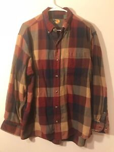 Men's Clothing Mens Xl Bass Pro Shop Flannel Button Down