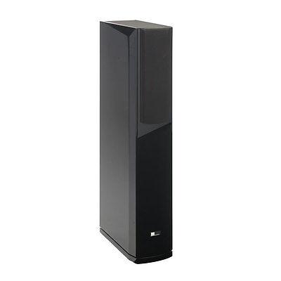 Pure Acoustics Dream 77F schwarz Rechts 1 Stück3-Wege Standlautsprecher
