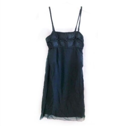 Vivienne Tam black silk dress size 2