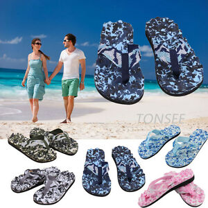2018 Men's Women's Summer Casual Flip Flops Shoes Sandals Slipper Beach Shoes