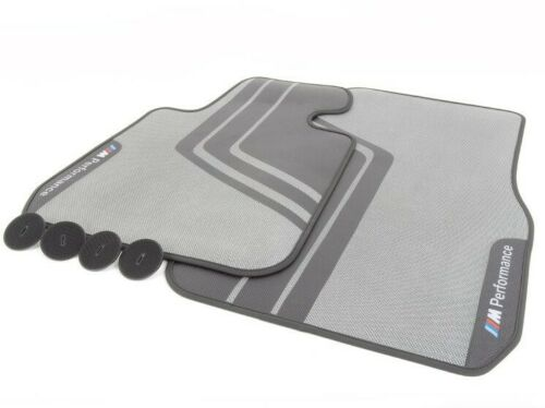 BMW Genuine F30 F31 F80 3-Series M Performance Carpeted Floor Mats Set NEW
