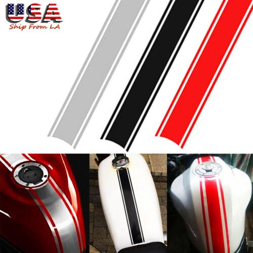 3x Motorcycle Tank Cowl Stripe Sticker Pinstripe Vinyl Decal Car Decor