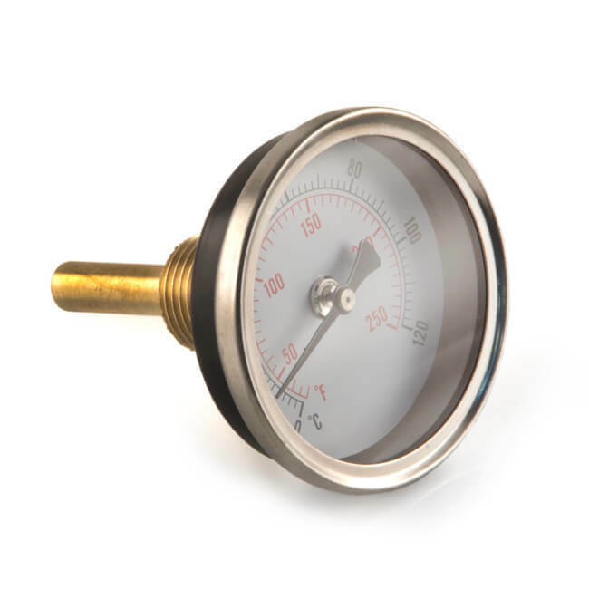 NEW Rear Entry Temperature Gauge - 60mm UK SELLER, FREEPOST