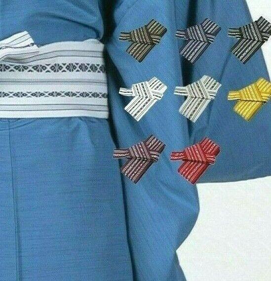 Kakuobi touch fastener tape Easy Kimono Yukata Japanese wear Obi Belt any color