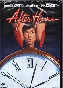 """DVD """"AFTER HOURS"""" Rosanna ARQUETTE / Martin SCORSESE  neuf sous blister"""