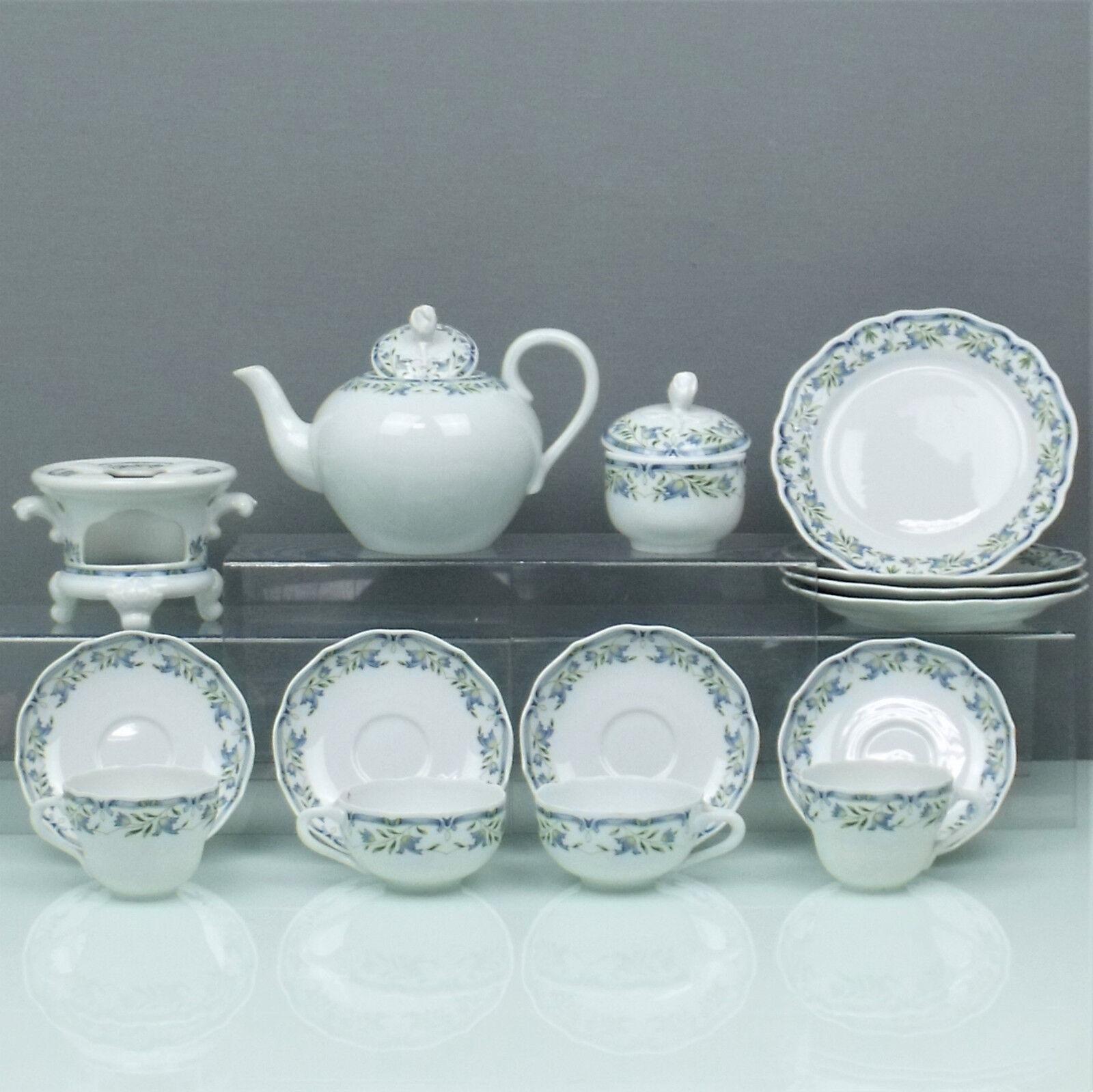 Hutschenreuther Miramare service à thé + café couverts pour 2-Personnes. (170917)