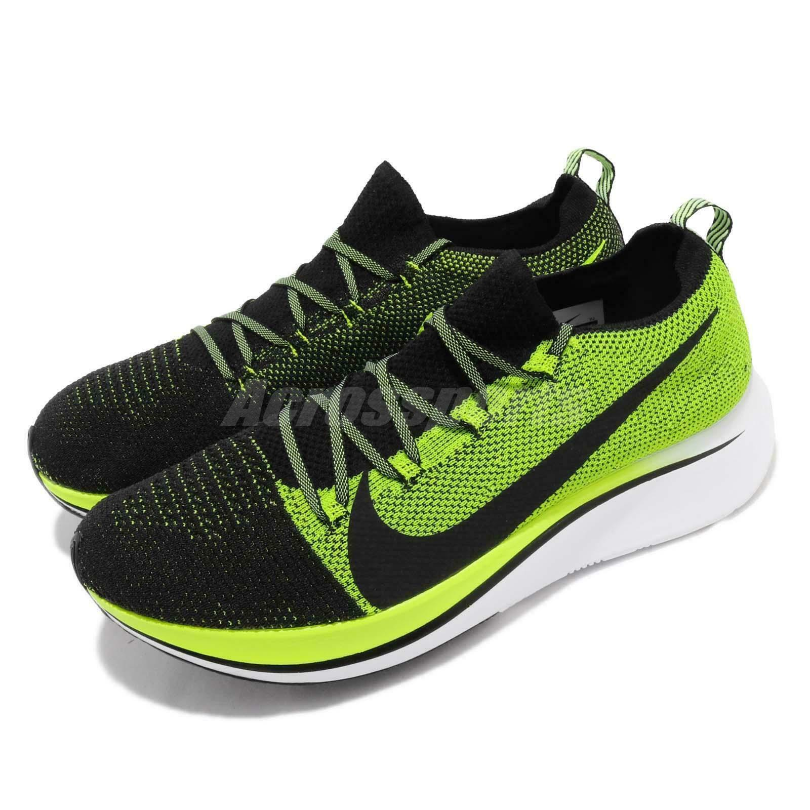 823dae6cd9b14 ... Nike Zoom Fly FK Flyknit Lightweight Mens Road Road Road Running shoes  Sock-Like Pick ...