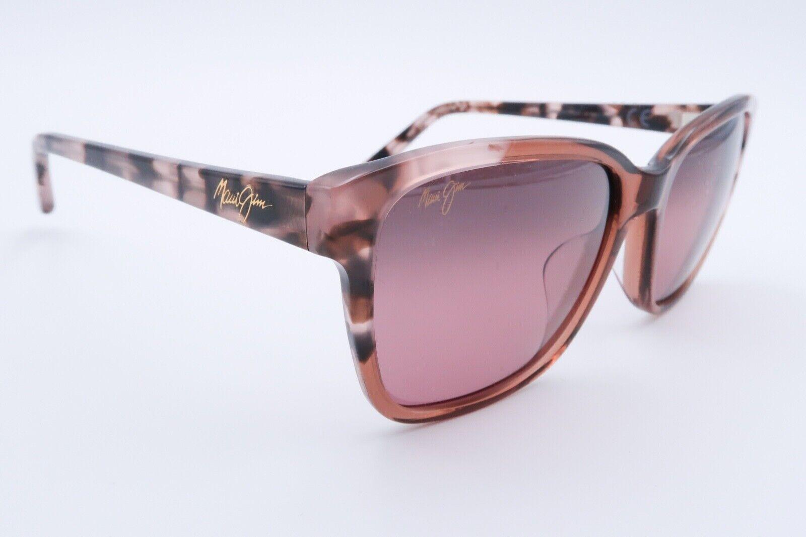 Maui Jim Moonbow MJ 726-64 Polarized Sunglasses Pink 57[]19-140 Brown E957