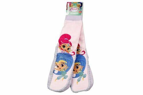 Shimmer And Shine Bed Slipper Socks Shimmer and Shine Girls Knit Slippers