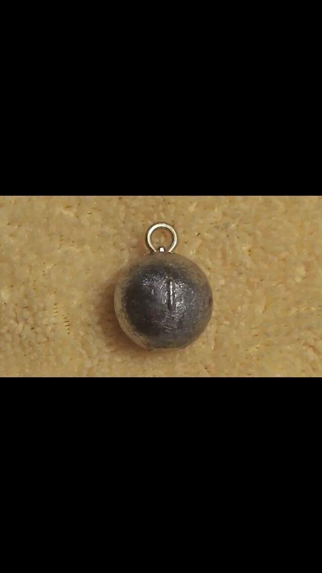 25 pieces 4oz Cannon Balls Sinker Free ship