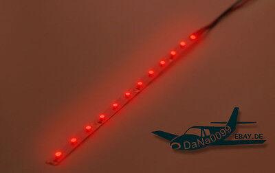 lIl LED rot Lichtband 12V SMD rot Stripe Streifen Leiste selbstklebend JST