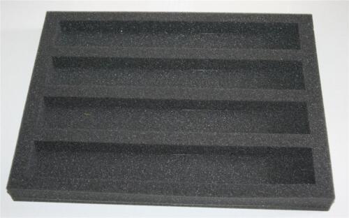 360mm x 265mm x 25mm 5 x Foam Case Packaging Inserts Train Storage Carriage
