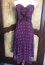 NWT Betsey Johnson Retro Polka Dot Dress