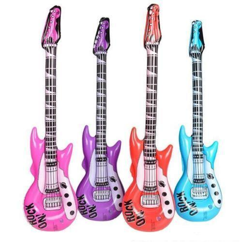 """KARAOKE 42/"""" 48 WHOLESALE INFLATABLE GUITARS ROCK AND ROLL GREAT FOR PARTIES"""