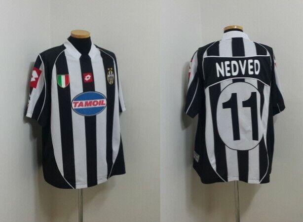 Camiseta Jersey (XL) Juventus Italia Fútbol Nedved checo Lazio Italia Maglia