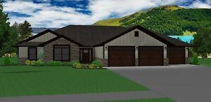 3 car garage PDF Beth/_1466G-3 all siding house  3 bed rm // 2 bath