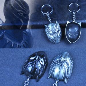 Marvel-Avengers-Black-Panther-Mask-Alloy-Key-Chains-Keychain-Keyfob-Keyring-Gift