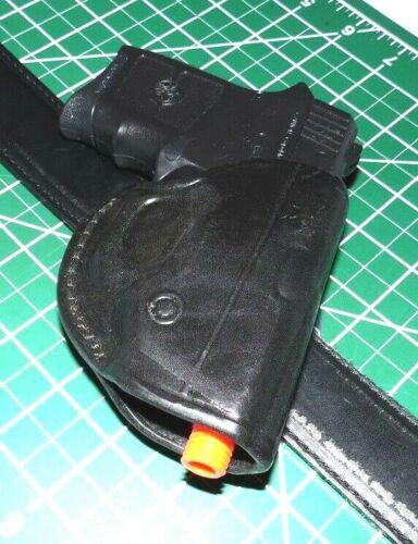 Tagua CDH3-720 RH Leather CROSSDRAW Holster for S/&W Bodyguard 380ACP OEM Laser