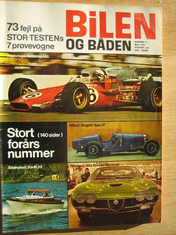 Bilen og båden 1970, Rogers Søgaard, Blad