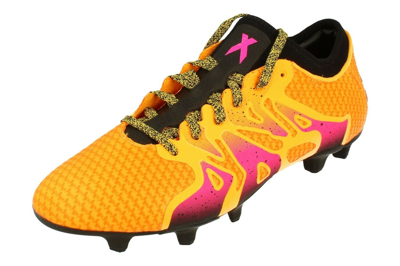 Adidas X 15.1 Primeknit Fg Ag uomo Footbtutti stivali Soccer Cleats AQ5143