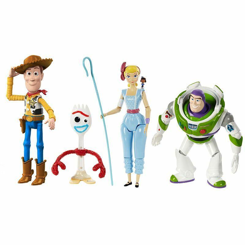 Toy Story 4 Adventure Pack Action Figure Statuette Personaggi Collezione GDP75