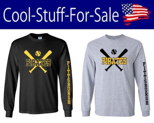 Pittsburgh Pirates Baseball Long Sleeve  Shirt