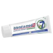 3 x BLEND-A-MED - Toothpaste complete plus - Herbs - From Germany  SHIPPING FREE
