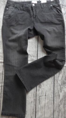 168 NEU 46 bis 54 Black Denim Long u Kurz Sheego Stretch Jeans Gr