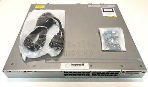 WS-C3850-24U-L-Cisco-Catalyst-3850-24-Port-UPOE-LAN-Base-Fast-Shipping