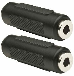 2-x-3-5mm-Stereo-Jack-Coupler-Joiner-Female-to-Female-Adaptor-Connector-UK