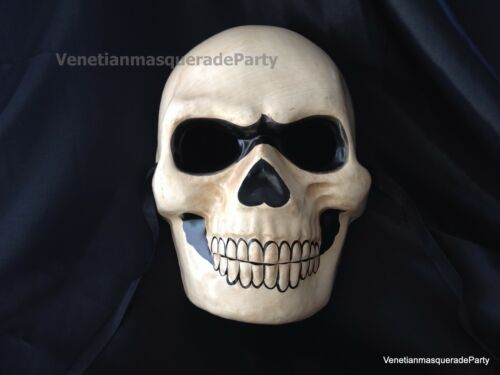 Horror Skull Halloween Costume Dress up Midnight fun party Devil Scary Mask