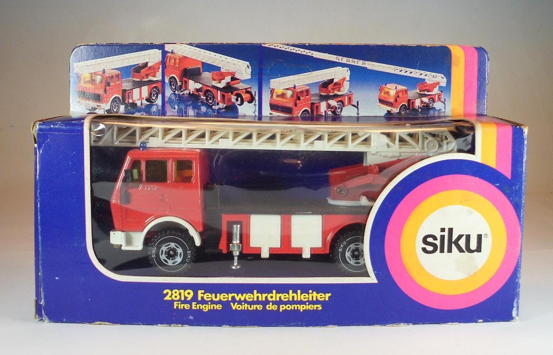 Siku 2819 mercedes - benz feuerwehr drehleiterwagen in ovp   369