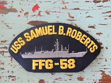 a0ee0b67c61 item 7 USS Samuel B. Roberts FFG 58 Patch Military United States Navy Ship -USS  Samuel B. Roberts FFG 58 Patch Military United States Navy Ship