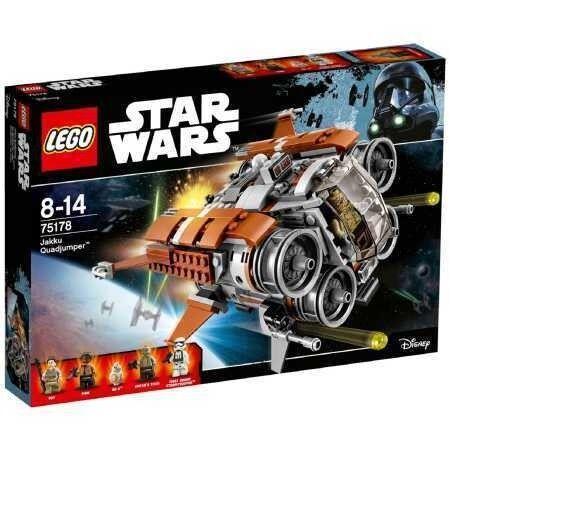 LEGO stjärna Wars Jakku Quadjumper - 7578
