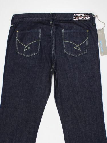 NEW Firetrap Womens Size 27w 30w 32w 32L 34L 35L Blue Flared Jeans