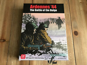 juego wargame - ARDENNES ´44 The Battle of the Bulge - GMT - WWII - Precintado