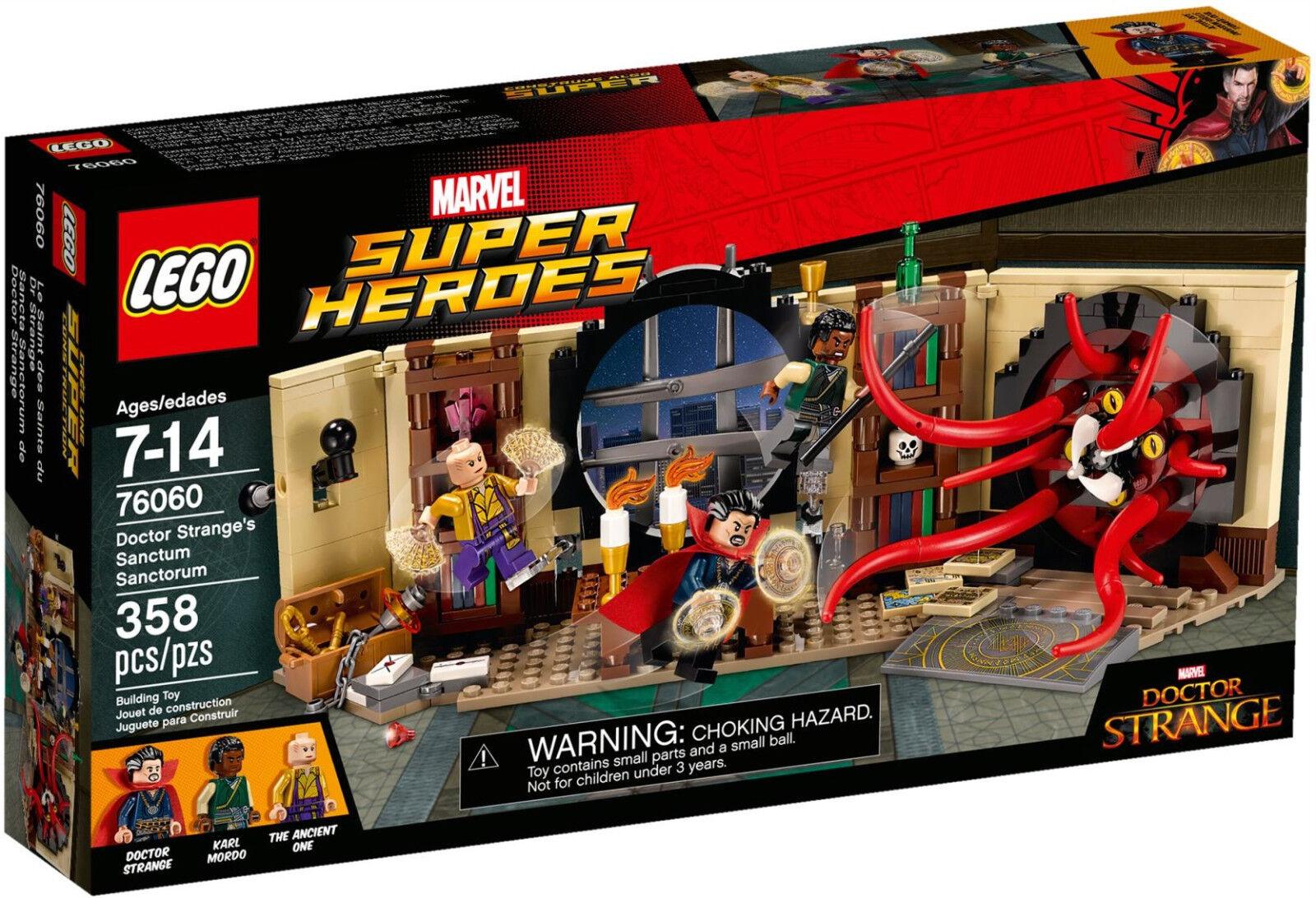 LEGO ® Marvel ™ Super Heroes 76060 Doctor Strange's Strange's Strange's Sanctum Sanctorum NEWNEUF 4ec076
