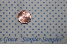"""AUNT GRACE """"SIMPLER SAMPLER"""" QUILT FABRIC CIRCA 1930's BTY FOR MARCUS 5876-0335"""